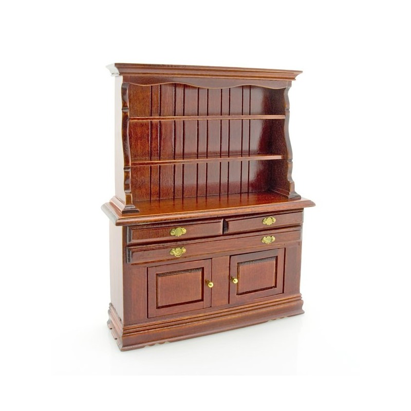 kitchen mahogany cupboard cabinet dollhouse furniture 12th dollhouse miniature modern kitchen furniture cabinet