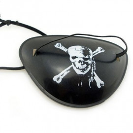 Pirate Eyepatch Adult Toddler Eye Patch Party Costume