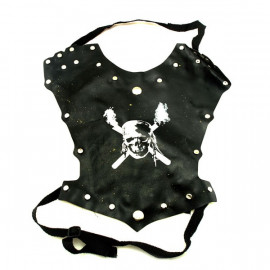 Pirate Captain Crossbones Armor Toddler Dress Costume