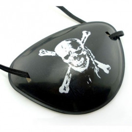Skull Pirate Eyepatch Toddler Eye Patch Party Costume