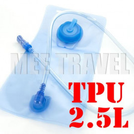 2.5L TPU Hydration Bladder Bag (BLUE)