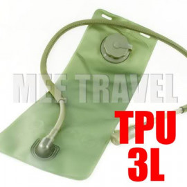 3L TPU Hydration Bladder Bag (GREEN)