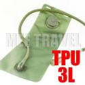 3L TPU Hydration Bladder Bag (GREEN)