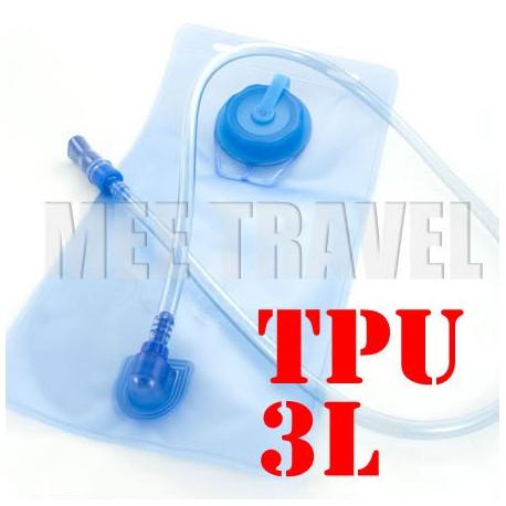 3L TPU Hydration Bladder Bag (BLUE)