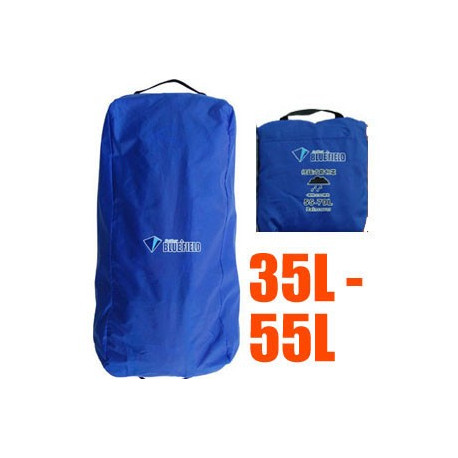 BlueField Backpack Rain Cover N090112 (35L to 55L) ROYAL BLUE