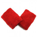 Sports Wristband Pair (Red)
