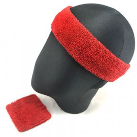 Sports Sweatband Set (Red)