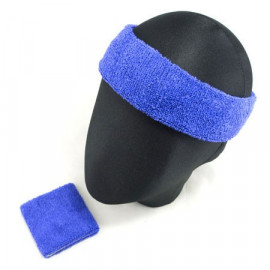 Sports Sweatband Set (Blue)