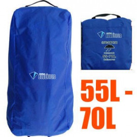 BlueField Backpack Rain Cover N090111 (55L to 70L) BLUE