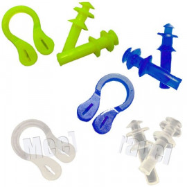 Nose Clip and Ear Plug Pack (3 SETS)