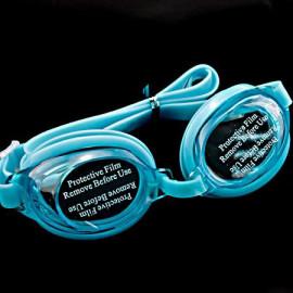 Swimming Kids Goggles with Bag AQUA