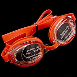 Swimming Kids Goggles with Bag ORANGE