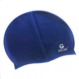Silicone Swim Cap (DARK BLUE)