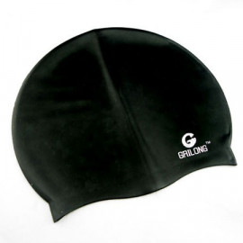 Silicone Swim Cap (BLACK)