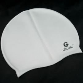 Silicone Swim Cap (GREY)