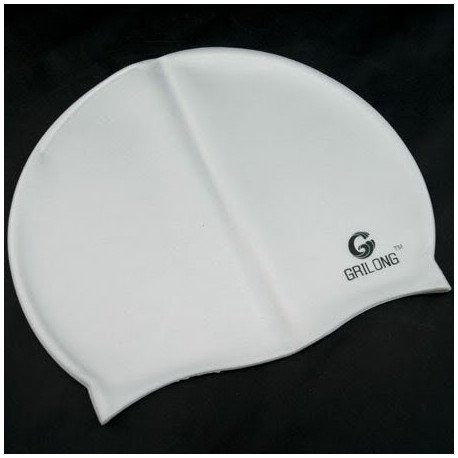 Silicone Swim Cap (GREY)