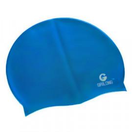 Silicone Swim Cap (CERULEAN BLUE)