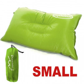 Self Inflatable Pillow (Small) (YELLOWISH GREEN)