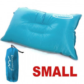 Self Inflatable Pillow (Small) (LIGHT BLUE)