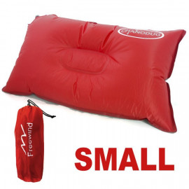 Self Inflatable Pillow (Small) (RED)