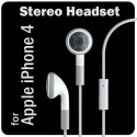 White Earbuds Headset Earphones Mic for Apple iPhone iPod