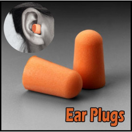 Pair Soft Foam Travel Earplugs Ear Plugs Protection