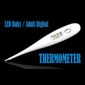 LCD Digital Baby Adult Pet Body Health Care Thermometer