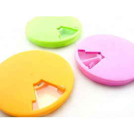 7-Day Round Medicine Pill Box Case Pillbox Organizer