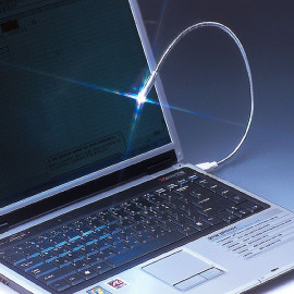 LED Light Lamp USB Flexible Neck for PC Notebook Laptop