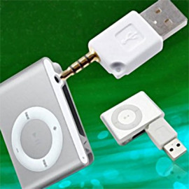 Wireless 3.5mm to USB Converter Adapter for Apple iPod