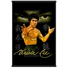 Bruce Lee Jeet Kune Do Wall Scroll Wallscroll Poster