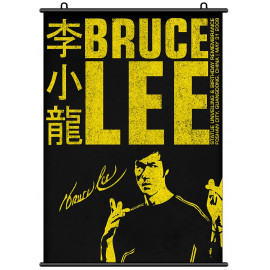 Bruce Lee Li Xiaolong Chinese KungFu Wall Scroll Poster