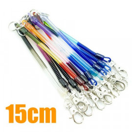 Extentable Strap 15cm Colour Keychain (Thin)