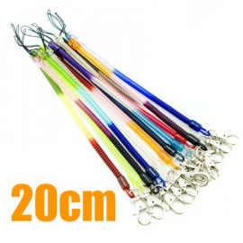 Extentable Strap 20cm Colour Keychain (Thin)