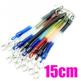 Extentable Strap 15cm Colour Keychain (Thick)