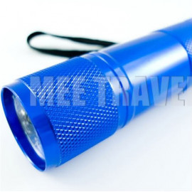 3.5 inches 9 LED Torch (BLUE)