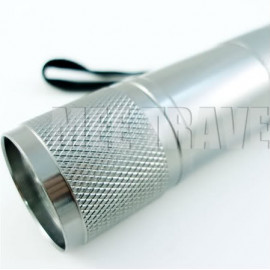 3.5 inches 9 LED Torch (SILVER)