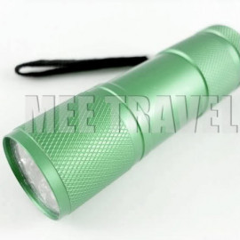 3.5 inches 9 LED Torch (GREEN)