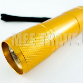3.5 inches 9 LED Torch (ORANGE)