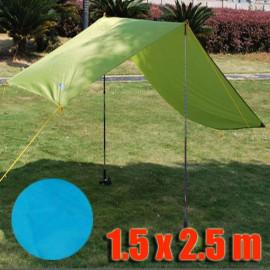 Tarp Tarpaulin Tent Shelter Heavy Duty S (BLUE)
