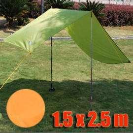 Tarp Tarpaulin Tent Shelter Heavy Duty S (ORANGE)