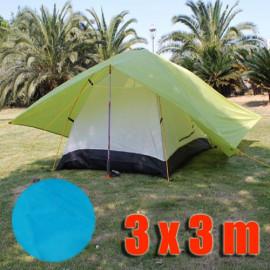Tarp Tarpaulin Tent Shelter Heavy Duty L (BLUE)