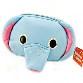 Japanese Kids Boy Blue Elephant Wallet Waist Belt Bag
