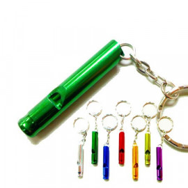 Mini Whistle with Key Ring