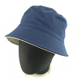 Reversible Outdoor Bucket Hat (Navy / Khaki)
