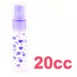 Liquid Spray Bottle Cylindrical Atomizer 20cc 20ml