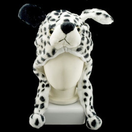 Dalmatians Big Ear Dog Mascot Plush Fancy Costume Fur Hat