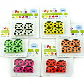 Lot/Set 4 Ladybird Beetle Key Management Shirt Cap Cover Holder