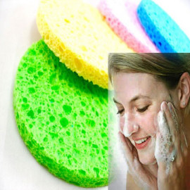 4x Cleansing Cellulose Sponge