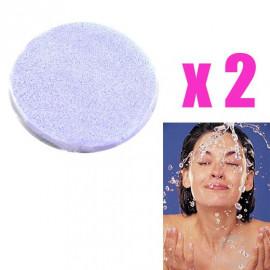 2x Cleansing PVA Sponge